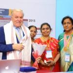 Professor with Dr Sameera, Dr. L Fahmida Banu