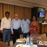 Dr Srinath B, Prof. Asim Kurjak, Basheer Ahmed, Dr. L. Fahmida Banu