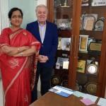 Dr. Fahmida Banu and Professor Asim Kurjak
