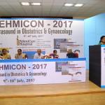 Dr L Fahmida Banu Delivering the Lecture