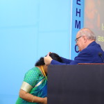 Professor Awarding Gold Medal to Dr. L Fahmida Banu