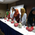 CPR training of delegates