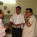 DR Prakash Trivedi,Dr Shailesh Puntambekar and  Dr P G Paul
