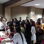 Dr Karuppiah in CPR workshop