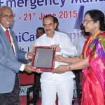 Dr Paily, Dy CM and Dr Fahmida Banu