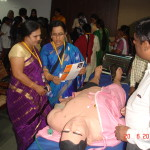 Dr Rajshree Palladi and  Dr Fahmida Banu