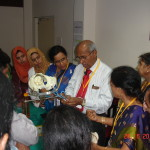 Dr VP Paily in Forceps workshop (2)