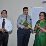 Mr Ganesh with Faculty